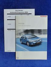 Honda Programm - Civic Accord S2000 - Prospekt + Preisliste Brochure 05.2006