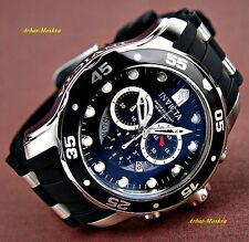 Invicta Men's Pro Diver Collection Chronograph Black Dial Luxury Watch