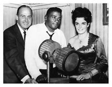 JOHNNY RENO on set promo still JANE RUSSELL & FLOYD PATTERSON - (L940)