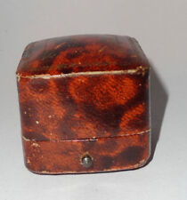 Leather Antique Rings Jewellery Boxes