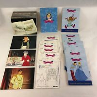 DISNEY CINDERELLA (SKYBOX/1995) Complete Card Set w/ POP-OUTS & ACTIVITY CARDS