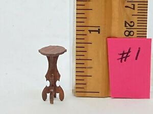 Dollhouse Miniature 1/4 scale plant stand