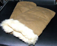 Authentic Russian Soviet Army Made In USSR All Natural Sheepskin Very Warm! XL