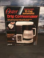 NEW Vintage Oster Designer Thermo-Cafe 10-Cup Automatic Drip Coffeemaker