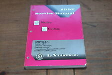 Malibu Cutlass L/N Platform Book 1 1997 Chevy Shop Service Manual