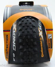 "Continental X-King MTB Bike Tire 27.5 x 2.4"" Black Chili Compound"