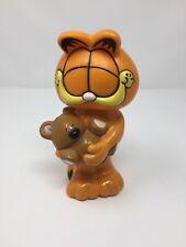 Garfield 1981 Bubble Bath Plastic Retro Figure