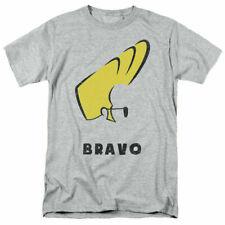 Johnny Bravo Johnny Hair T Shirt Mens Licensed Cartoon Merchandise Gray