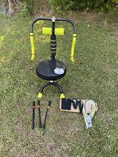 LIGHTLY USED AB DOER 360 ABDOMINAL & FITNESS MACHINE With PRO KIT & DVD