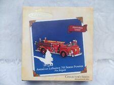 2004 Hallmark Ornament American LaFrance 700 Series Pumper Fire Brigade B7