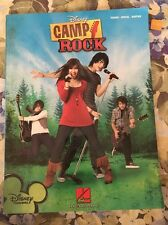 2008- Camp Rock Songbook Sheet Music Song Book- Disney Channel