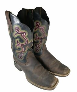 Ariat Womens Cowboy Cowgirl Boots Size 9.5 B Model 10014170