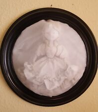 Victorian Woman Ghost Out of Frame Halloween Haunted House Props
