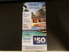 $50 Hotels.com equivalent cards at myHotelGiftCard.com with $$ MAJOR DISCOUNT!!