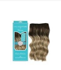"""Halocouture Extensions 22"""" Layered Halo Balayage COLORS. Brand New in Box"""