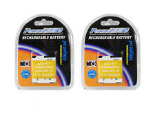TWO 2X Batteries DMW-BCL7 DMW-BCL7PP DMW-BCL7E for Panasonic F5 FH10 FS50 XS1