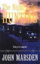 The Night Is for Hunting  John Marsden HBDJ Signed 1st