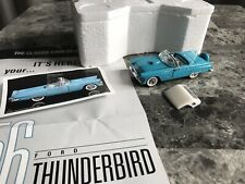Franklin Mint 1:43  1956 Ford Thunderbird