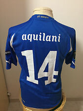 Maglia calcio shirt Italia Vs Irlanda Nord N 14 Aquilani Q Euro 2012 match worn