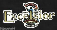 EXCELSIOR MOTORCYCLE STICKER / DECAL WORKSHOP ARIEL BSA CAFE RACER TRIUMPH HOG