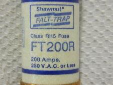 GOULD SHAWMUT  200 AMP FUSE 250 VAC MODEL FT200R