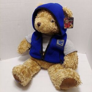 "26"" Vintage Gund Wish Bear Peace Teddy May Dept Stores Plush Stuffed Animal 2000"