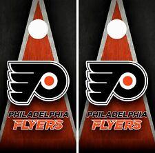 Philadelphia Flyers Cornhole Wrap Skin Board NFL Sports Vinyl Decal GC113
