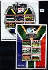 // UGANDA 2010 - MNH - SOCCER - SOUTH AFRICA