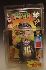 McFarlane Clown Spawn Poseable Action Figurine 1994 Special Edition Comic Book