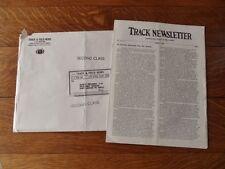 >Original Aug. 11, 1967 Track & Field News ~TRACK NEWSLETTER~ Vol. 14, No. 1