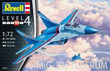 REVELL 1:72 KIT AEREO PLANE MIG-29S FULCRUM LUNGHEZZA 23,6 CM  ART 03936