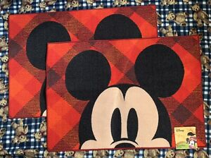Rare Official Disney Mickey Mouse Fall / Autumn Holiday Accent Rug 26 X 38 NWT