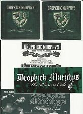 DROPKICK MURPHYS Warriors Code/Going Out In Style 3 PROMO STICKERS for cd MINT