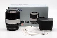 EX+ Voigtlander APO-Lanthar 125mm f/2.5 SL Macro Canon EF Mount #HK8157X