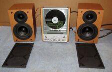 SONY CMT-EX1 Micro System AM FM Radio CD Player Bookshelf Speaker Stereo Sys J21