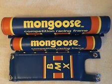 Mongoose bmx pads gt, haro, redline, hutch, pk ripper, torker, cw, skyway