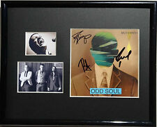 SIGNED MUTEMATH AUTOGRAPHED CD DISPLAY 8X10 ALL NICE!