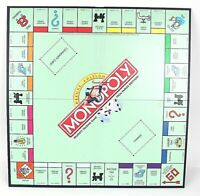 Monopoly Deluxe Edition Game Board Replacement Parker Brothers 1998