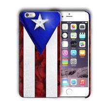 Puerto Rico Symbol Flag Boricua iPhone 4S 5S 5c 6S 7 8 X XS Max XR Plus Case n1