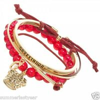 "HARRY POTTER GRYFFINDOR ARM CANDY PARTY CHARM BRACELET SET CREST, ""G"" AND MORE!"
