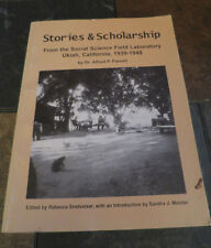 Stories and Scholarship Ukiah California Mendocino County California Parsell A