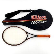 Wilson Pro Staff Largehead 4 3/8 Tennis Racquet w/ Carrying Bag