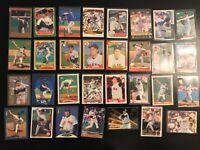 31 Card Roger Clemens Lot 92 Stellar 87 Fleer Sticker + More Boston Red Sox (B8)