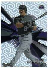 2015 Topps High Tek Chain Link Pattern 4B Variation SP VC Vinny Castilla Rockies