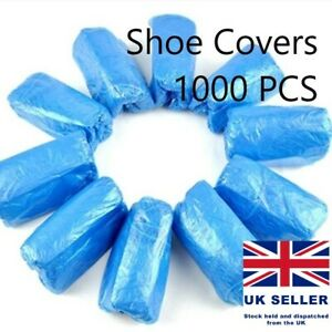 Disposable Waterproof Over Shoes Shoe covers Carpet cleaning Protectors PPE