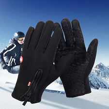 Waterproof Men Women Winter Warm Ski Motorcycle Driving Touch Screen Gloves