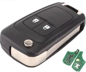 2B  Transponder remote flip car key suitable for Holden Colorado RG 2012 - 2016