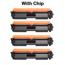 4 Pack Compatible for CF230A HP30A HP LaserJet M203dw M203dn M227fdn M227fdw