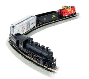 Bachmann # 24014 Yard Boss Train Set Santa Fe  N Scale  MIB