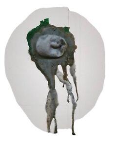 Dripping Face Sculpture